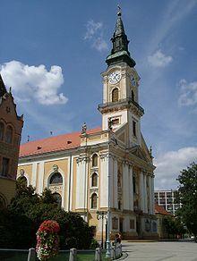 Kecskemet-Nagytemplom - very near to my school