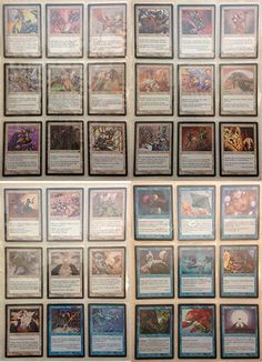 MTG Collection - Nemesis - Full Set! Near Mint/Mint #WizardsoftheCoast