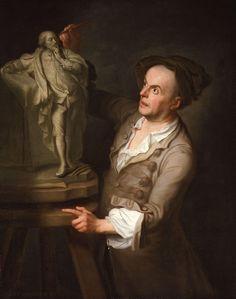 Louis François Roubiliac by Adrien Carpentiers (Carpentière, Charpentière) - Adrien Carpentiers - Wikipedia