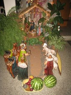 Pesebre/ Nativity  PARAGUAY I have beautiful childhood memories making the pesebre out of rocks... that according to tradition I remember my parents telling me that if I decide to make the pesebre you have to keep making for the next 7 years continuously. Which I did! ✨