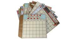 A Calendar of Keepsakes - Canvas Home Basics