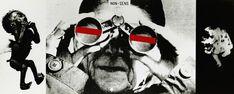 Photomontage, Collages, Roman, Vintage Graphic Design, Art Graphique, Illustration, Poster, Image, Polish