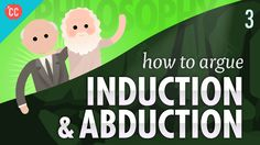 Methods to Argue - Induction & Abduction: Crash Course Philosophy What Is Philosophy, Philosophy For Children, Philosophy Of Science, Logic And Critical Thinking, Online Math Courses, Medical Pictures, Religious Studies, Interactive Learning, History Projects