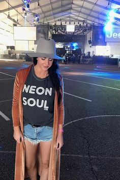 Neon Soul Tank