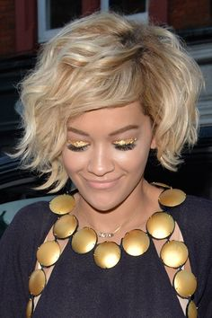 blonde short curly hair - Cerca con Google