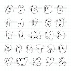Image result for moldes de letras