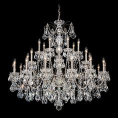 Features 28 Light Chandelier Can Be Used In A Dining Room