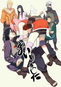 Naruhina and Sasusaku xD [by http://www.pixiv.net/member_illust.php?mode=medium&illust_id=48150336]