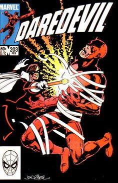 Daredevil # 203 by John Byrne