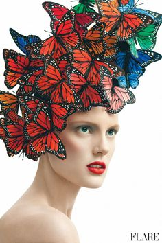 Butterflies!!! Love it!!!!! April 2013 Beauty - Photography: Andrew Soule