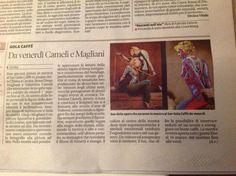 Diego Magliani e Valentina Cameli, Il Tirreno
