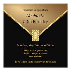 24 Best 50th Birthday Invitation Templates Images Birthday Ideas
