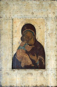 The Virgin of Vladimir, 1400Andrei Rublev - by style - Byzantine
