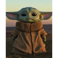 Baby Yoda, with the help of fashion, radiates fear and trembling in Star Wars Battlefront 2 Star Wars Fan Art, Star Wars Meme, Yoda Pictures, Yoda Images, Cr7 Jr, Meister Yoda, Yoda Drawing, Yoda Meme, Cute Characters