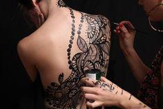 Henna detail