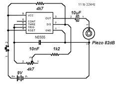 bass / guitar headphone amp schematic, Circuit diagram