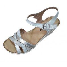 23a1ec079fb CARY-SHOES-URBAN. Sandalias cómodas plata Modelo de ...
