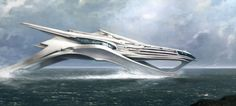 the futuristic ship from cloud atlas