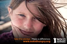 Take the pledge with me!. www.nokidhungry.org