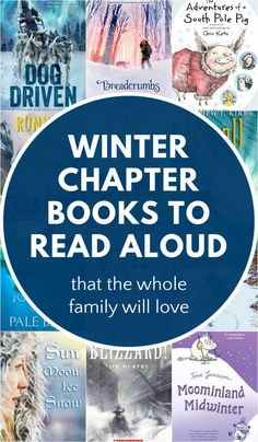 Winter chapter books for kids and families. Cozy up with the whole family this winter with these read aloud chapter books kids and their parents will love equally.