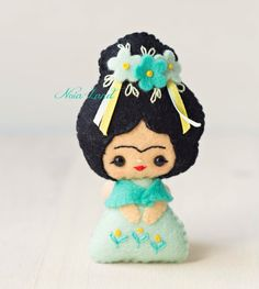 PDF Pattern. Tiny Frida. by Noialand on Etsy