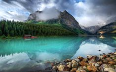 Louise Lake, Canada by Aubrey Stoll