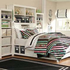 Beadboard Super Set, love this for the youngest, so much storage! Full size it.