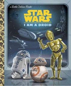 Meet R2-D2, C-3PO, and all the loyal droids from the epic Star Wars space saga! Featuring stunning retro illustrations, this book is perfect for Star Wars and Little Golden Bookfans of all ages.