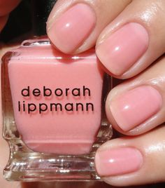 KellieGonzo: Deborah Lippmann P.Y.T. (Love this Sheer color, perfect for anytime of year)