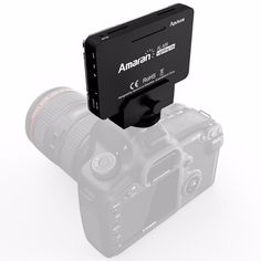 Aputure AL M9 Pocket Mini LED Video Light for Canon Nikon Sony Rechargeable built in battery. Click visit to buy #Photographic #Lighting #PhotographicLighting