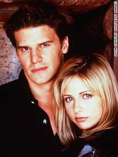 Angel and Buffy from Buffy the Vampire Slayer