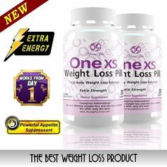 One XS Weight Loss Pills Extra Strength Appetite Suppressant and Fat Burner 60ct #YoungYou