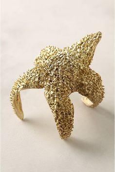 starfish bracelet!; anthropologie.com