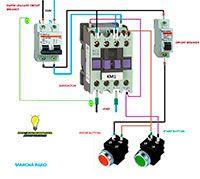 Esquemas eléctricos: Arranque directo