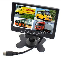62.77$  Buy now - http://aligd0.worldwells.pw/go.php?t=32735311895 - 7 Inch Car Parking Monitor Vehicle Reversing 500:1 Contrast Ratio Rear View Backup Camera Reverse System Accessories