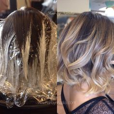 balayage short hair - Google Search...