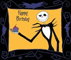 Brilliant Happy Birthday From Jack Skellington Happy Birthday Jack Funny Birthday Cards Online Ioscodamsfinfo