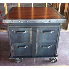 Ellis Filing Cabinet | Vintage Industrial Furniture