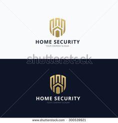 Home logo,home security,real estate,house,home,Vector logo template