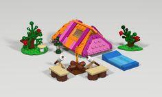 Lego Friends Tent