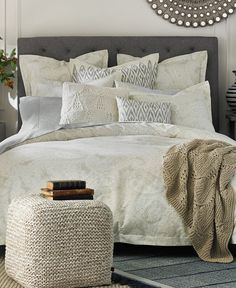 Nicole Miller Home King Or Queen Duvet Cover And Shams Set