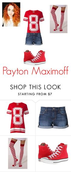 """""""Payton daughter of Scarlett Witch"""" by damack on Polyvore featuring Tommy Hilfiger, Joe's Jeans and Converse"""