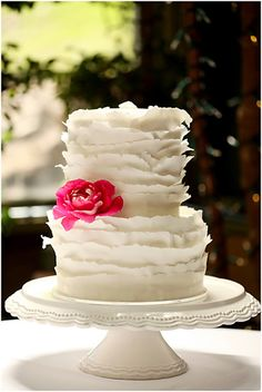 Carrie's Cakes - ruffle cake