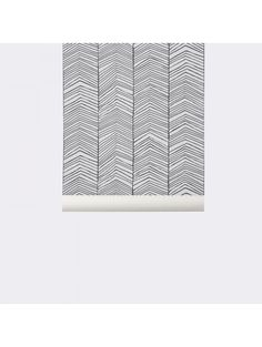 Ferm Living x WallSmart Hand Printed Chevron Wallpaper Roll Herringbone Wallpaper, Chevron Wallpaper, Home Wallpaper, Wallpaper Roll, Pattern Wallpaper, All Modern, Modern Decor, Contemporary Wallpaper, Design Inspiration