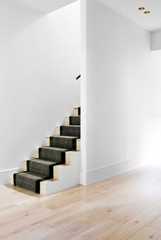 Love this staircase by Flack Studios.