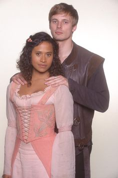 Merlin - Guinevere and Arthur