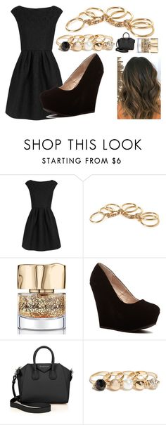 """""""Fancy-QOTD"""" by nat-nat123 ❤ liked on Polyvore featuring Boutique Moschino, Forever 21, Smith & Cult, Givenchy and GUESS"""