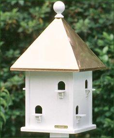 Victorian Birdhouse On A Porch Post Gardening Yard