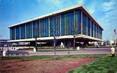 The Federal Pavilion for the 1964/1965 New York World's Fair