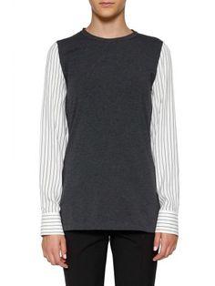 BRUNELLO CUCINELLI Brunello Cucinelli Shirt Sleeve Jersey. #brunellocucinelli #cloth #sweaters